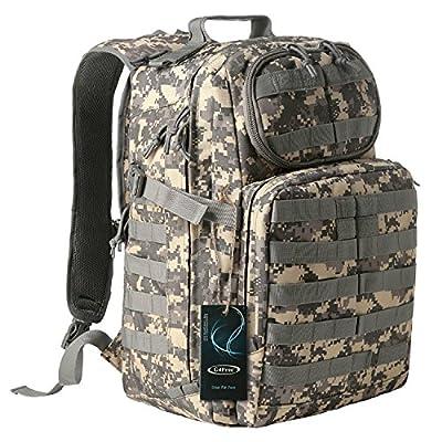 G4Free Multipurpose Tactical BackPack Large Camping Hiking Shoulder Pack 40L