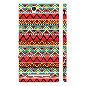 Enthopia Designer Hardshell Case Wild one Back Cover for Sony Xperia C3