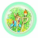 Petit Jour Peter Rabbit Verde melamina Plate