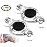 Touchscreen Game Joystick Game Rocker Gamepad Mini Controller Joypad for Smart Mobile Phone and Pad Tablet (2 pack)