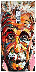 Snoogg Einstein Scientist'S Vision Solid Snap On - Back Cover All Around Prot...