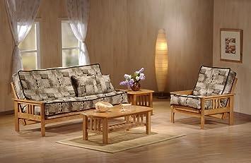 J&M Furniture 175656-T-CSPK Monterey Futon Frame