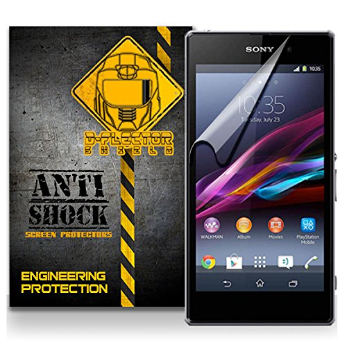 D-Flectorshield Sony Xperia Z1S Anti-Shock/Military Grade/ Tpu /Premium Screen Protector / Self Healing / Oleophobic Material / Ez Install / Ultra High Definition / Scratch Proof / Bubble Free Install / Precise Laser Cuts front-580407