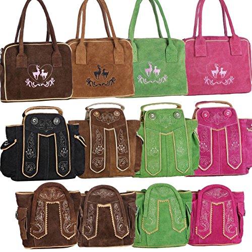 Dirndltasche-Handtasche-Trachten-Tasche-aus-echtem-Leder-20cm-dunkelbraun