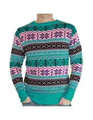 Extreme 80s DayGlow Sweater Unisex Adult