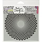 Crafters Workshop Template, 6 by 6-Inch, Solace