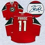 Zach Parise Minnesota Wild Autographe...
