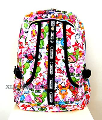 XIAOMEI Colourful Cartoon A4 Backpack 8130C for Travel, Holiday, School or College from XIAOMEI