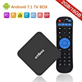 [Amlogic S912 2GB RAM+16GB ROM] Android 7.1 TV Box,64 Bits Octa Core Smart TV Box Support 4K 3D Dual Band WiFi 2.4GHz/5GHz 1000LAN-OTTBOX Z Plus [2018 Newest Model]