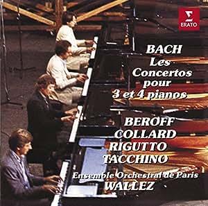 Bach : les Concertos pour 3 et 4 pianos