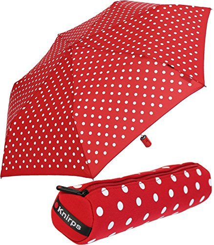 knirps-slim-duomaticfolding-umbrella-red-polka-dots-rot-im-case-90-cm