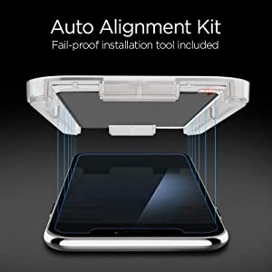 Spigen Tempered Glass Screen Protector [Installation Kit] Designed for iPhone Xs Max [2Pack] - Privacy (Color: Glas. tR EZ Fit)