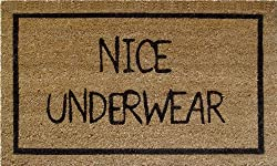 Mats Matter Nice Underwear-Doormat(45 x 75 CM)