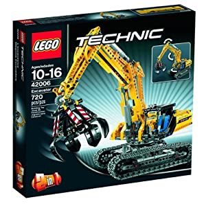 LEGO Technic 2 in 1 Excavator / Tractor 42006 from LEGO