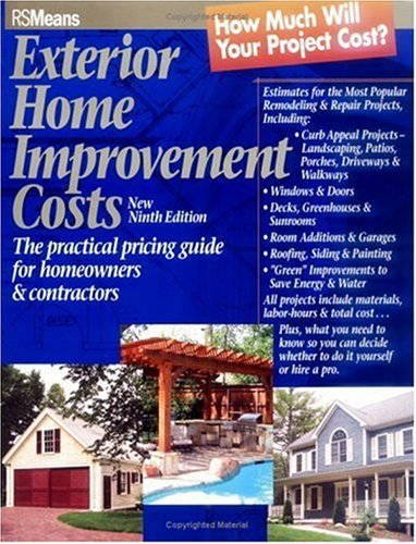 Means Exterior Home Improvement Cost Guide, 9th Edition - Soft-cover - RSMeans - RS-67309E - ISBN: 0876297424 - ISBN-13: 9780876297421