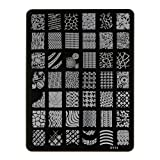 Nagelstempel Stempel Stamp Schablone Plates Nail Art Stamping 10.5cm x14.5cm