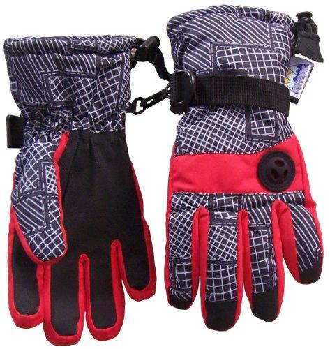 nice-caps-boys-thinsulate-and-waterproof-geo-lines-print-ski-glove-3-4yrs-red-grey