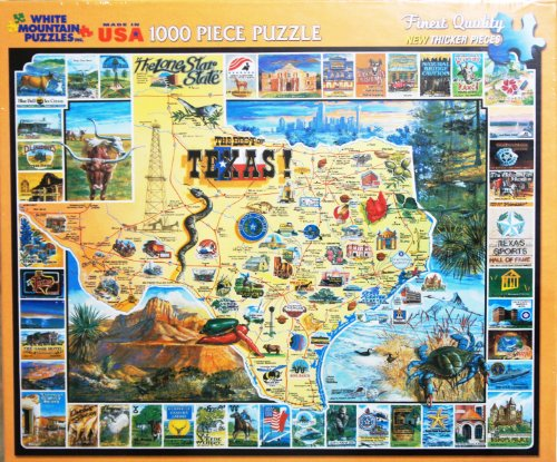 The-Best-of-Texas-1000-Piece-Jigsaw-Puzzle-MADE-IN-USA-Puzzle