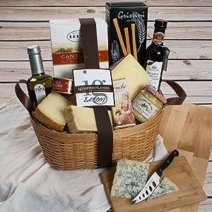Italian Luxuries Gift Basket - FREE SHIPPING (5.7 pound)