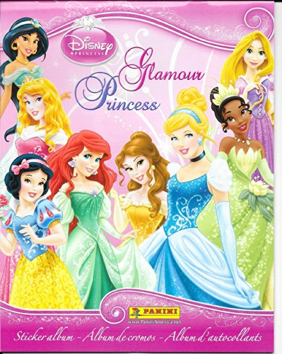 Disney Glamour Princess Sticker Album - 1