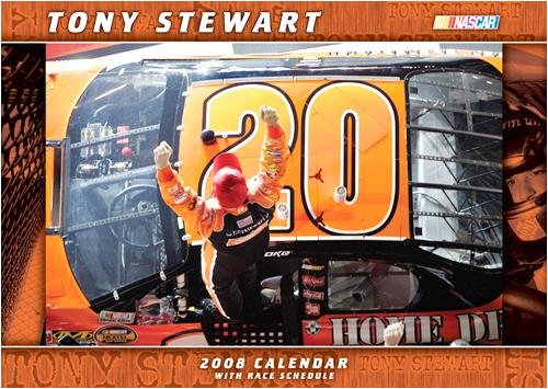 Tony Stewart Large Wall - 2008 Calendar - Buy Tony Stewart Large Wall - 2008 Calendar - Purchase Tony Stewart Large Wall - 2008 Calendar (Calendars, Office Products, Categories, Office & School Supplies, Calendars Planners & Personal Organizers, Wall Calendars)