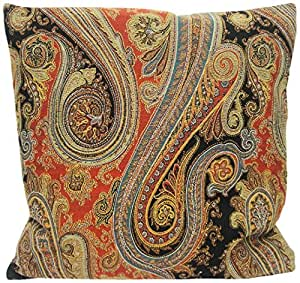 Decorative Pillows Newport Layton Home Fashions : Amazon.com - Newport Layton Home Fashions Revival Knife Edge Pillow with Zipper Closure and ...