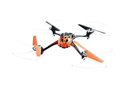 XCiteRC 15014110 radio-commandée à 250 rocket 3D rC quadrocoptère 4 canaux avec rTF drone appareil photo-orange