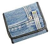 Bijoux De Ja 男女兼用 ブルーデニム三つ折り 財布