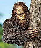 Design Toscano Exclusive Hand Painted Bigfoot The Bashful Yeti Tree Sculpture ^#H4345 344Y584H343239