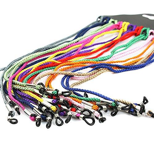 12-couleurs-assorties-Nylon-Sport-Lunettes-de-soleil-Support-Sangle-de-Lunettes