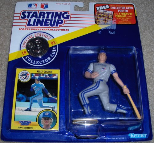 Kelly Gruber 1991 MLB Starting Lineup - 1