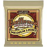 Ernie Ball 2003 Earthwood Medium Light 80/20 Bronze Acoustic Set, .012 - .054