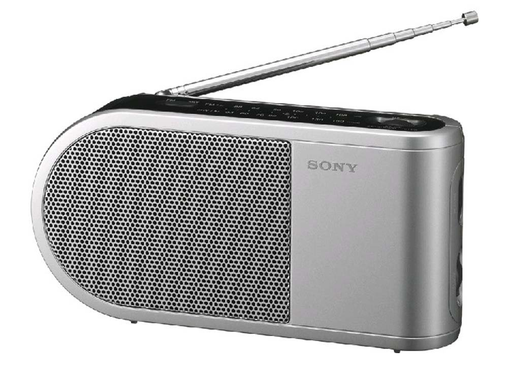 Sony icf 304 am fm analog portable table radio available for Icf pricing