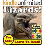 Lizards! Learn About Lizards While Learning To Read - Lizard Photos And Facts Make It Easy! (Over 45+ Photos of Lizards)