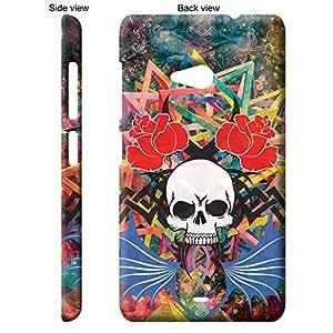 TheGiftKart™ Abstract Art Scary Skull Tattoo 2nd Design Back Cover Case for Microsoft Nokia Lumia 535 - Multicolor