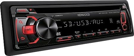 Kenwood Electronics KDC-3657SD Autoradio CD/DVD Noir
