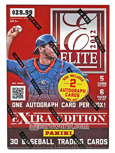 2012 Elite Extra Edition Baseball 6-Pack Box (Two Autos!)