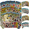 25 Petites Feuilles de Stickers pour Enfants pour Artisanat, Scrapbooks, Cr�ation de Carte, Sacs Surprise: insectes; voitures; camion, mode, ours mignons, lapins, etc