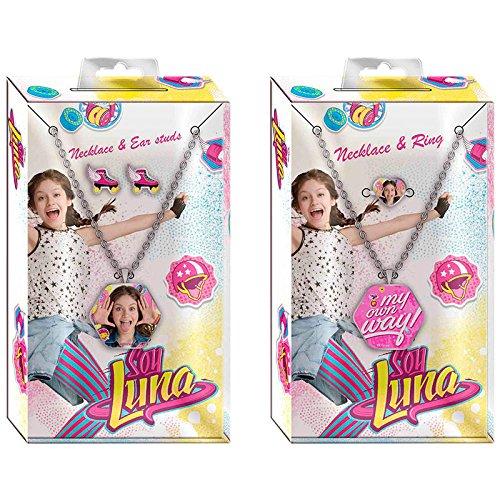 Soy Luna - Set colgante + bisutería, 13 X 7 cm (Kids WDSL054)