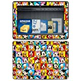 Disney Friends Design Protective Decal Skin Sticker (High Gloss Coating) for Amazon Kindle Fire HDX 8.9 inch (released 2013) eBook Reader