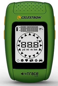 Celestron Retrace Lite Navigateur GPS de poche Vert (Import Royaume Uni)