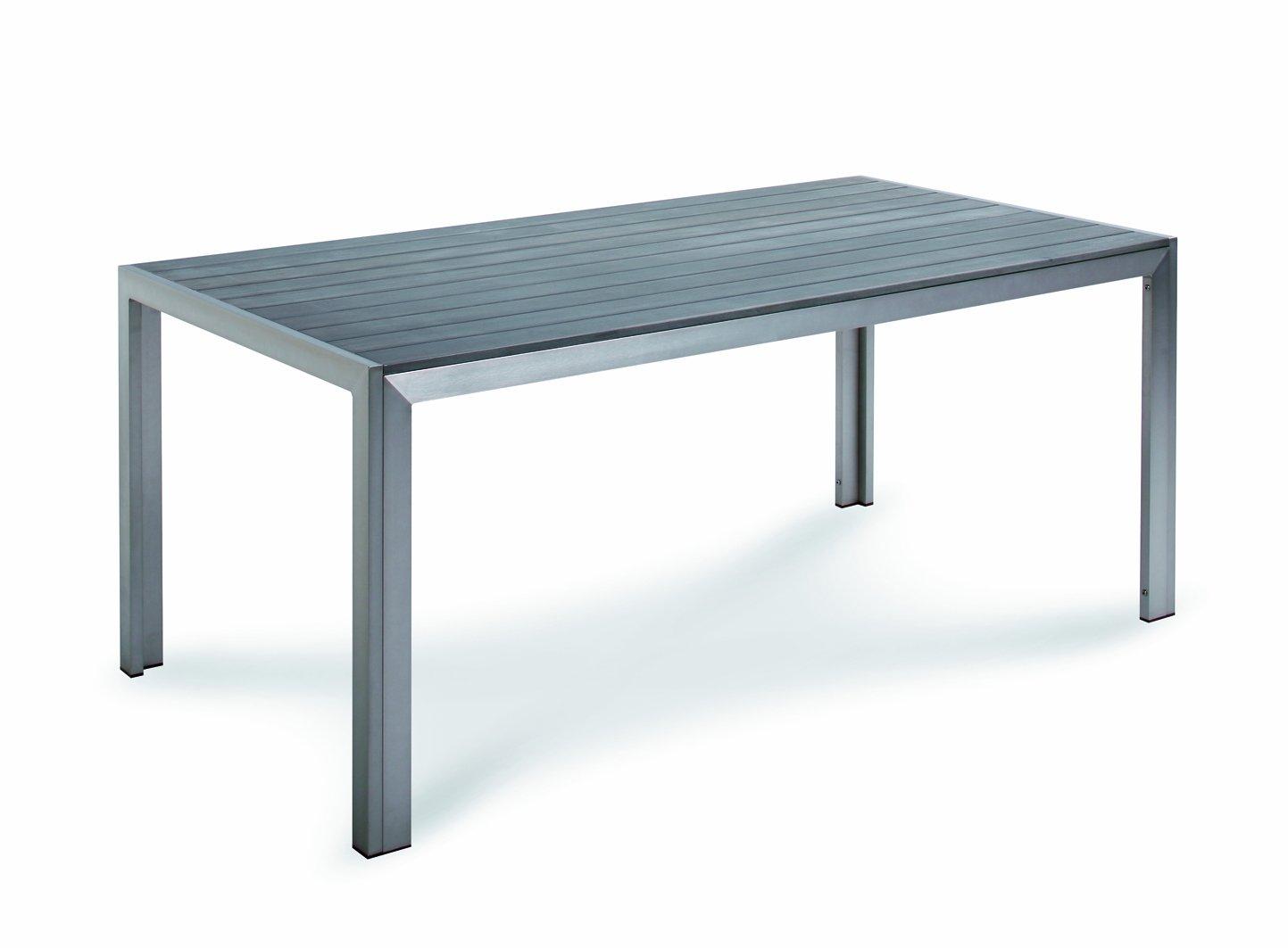 Best 46851885 Tisch Seattle 180 x 90 cm, silber / anthrazit kaufen