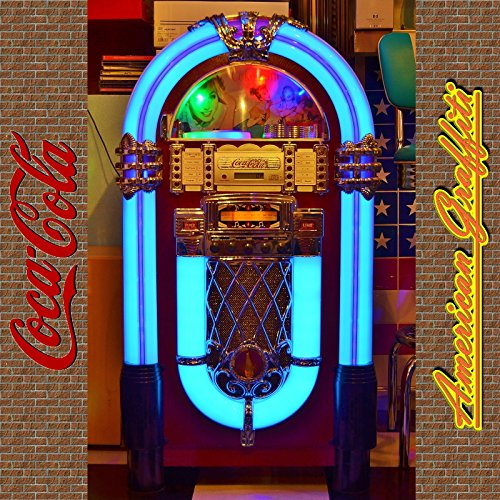 ジュークボックス型CDプレーヤー 【Coca-Cola Juke Box/Hollywood】 コカ・コーラ ジュークボックス/ハリウッド