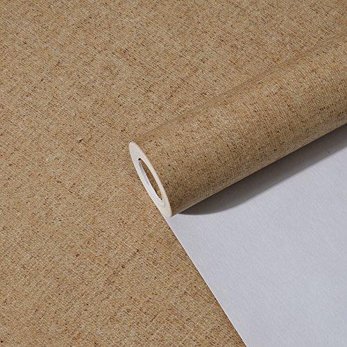 yifom-einfache-sandebene-vliestapeten-schlafzimmer-wohnzimmer-studie-reinen-pu-wallpaperc