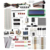 17 Projects for beginners: Lesson 1 Blinking LED Lesson 2 Controlling an LED by a Button Lesson 3 LED Flowing Lights Lesson 4 Controlling LEDs by Main Function Parameters Lesson 5 LED Breathing Light Lesson 6 RGB LED Lesson 7 Bu...
