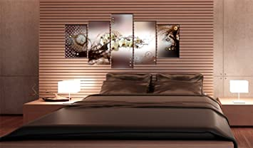impression sur toile 100x50 100x50 cm 5 parties image sur sur toile images photo. Black Bedroom Furniture Sets. Home Design Ideas