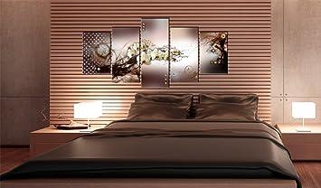 impression sur toile 100x50 100x50 cm 5 parties image sur sur toile images photo. Black Bedroom Furniture Sets. Home Design Ideas