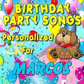 Amazon.com: Happy Birthday to Marcos (Markos, Marcus