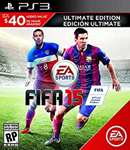 FIFA 15 (Ultimate Edition) - PlayStation 3 by Electronic Arts