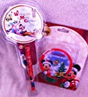 Disney Mickey Mouse Holiday Nightlight with Pen and Notepad